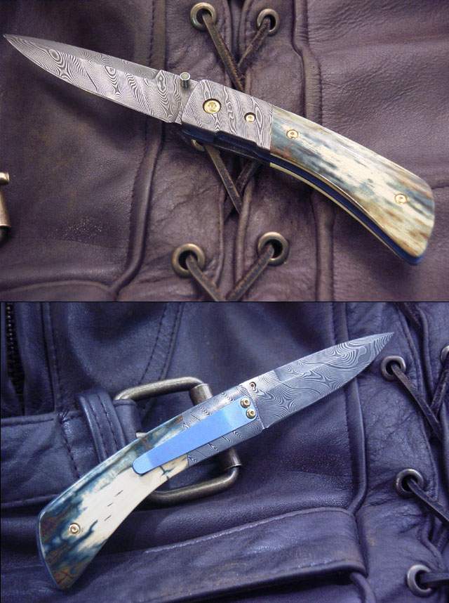Damascus and Ivory by Brian Tighe