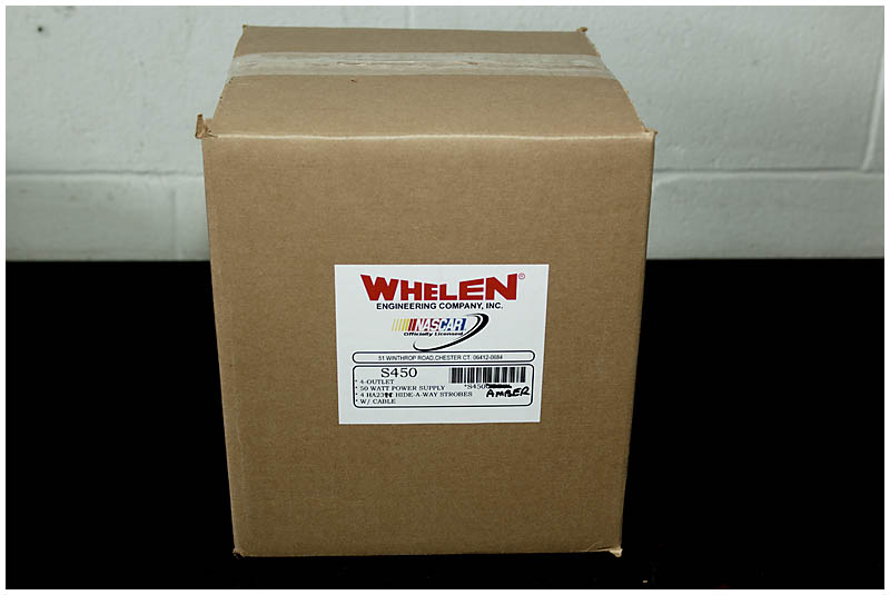 Whelen's S450AAAA Hide-A-Way strobe kit