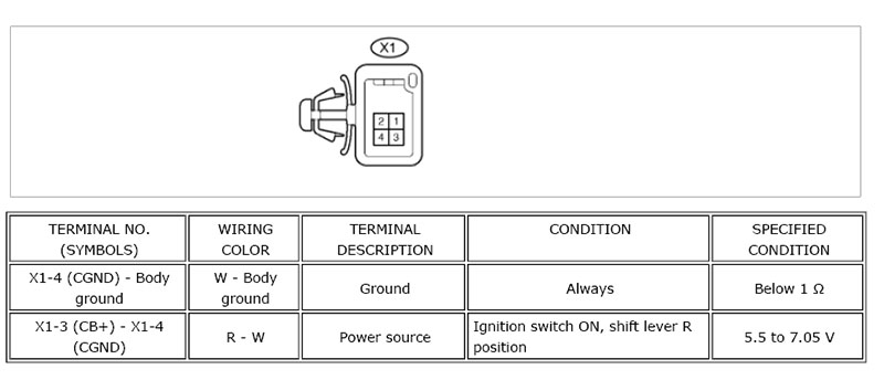 2012 Tundra Backup Camera Wiring Diagram Somurich com
